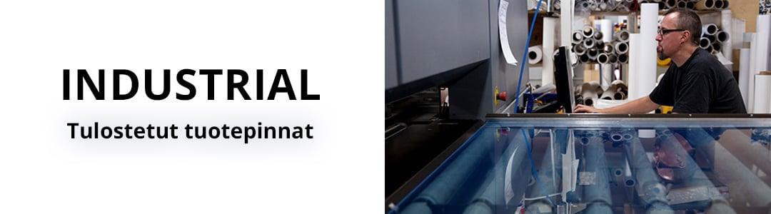 Industrial - Tulostetut tuotepinnat